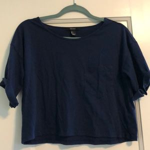 Forever 21- cropped tee